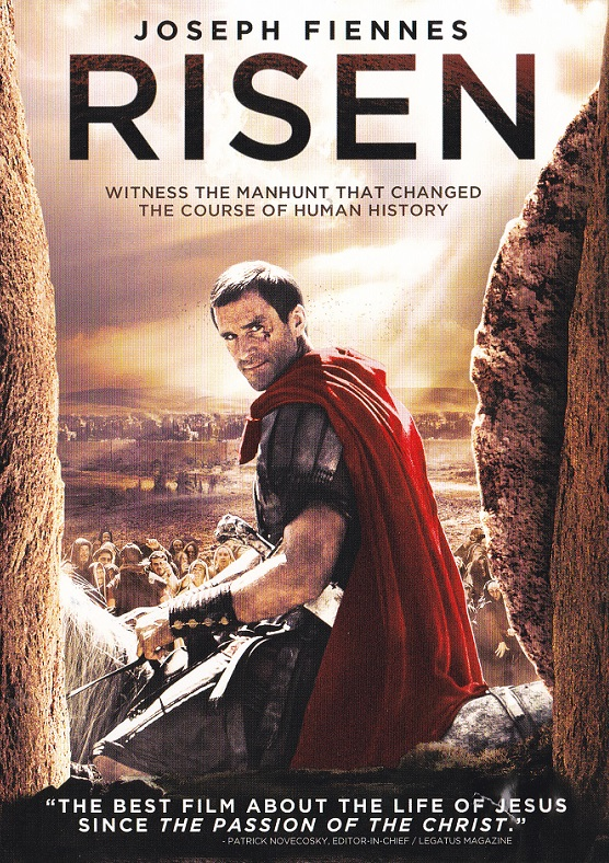 Picture of the RISEN DVD front cover